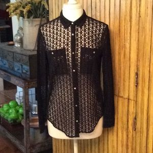 The Kooples Lace Blouse